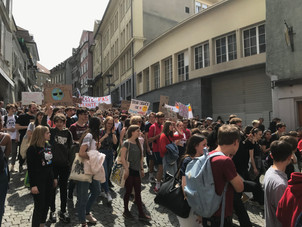May 24 Global Climate Strike in Lausanne