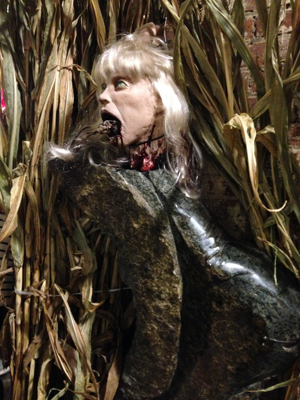 Scary figure - Halloween at Chelsea Market 2016