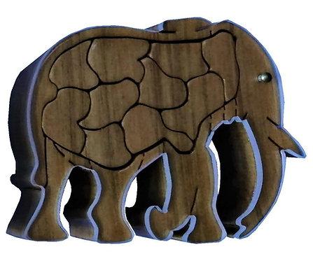 3D Elephant Small