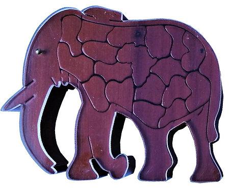 3D Elephant Large