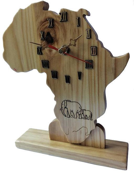 Clock Africa Standing
