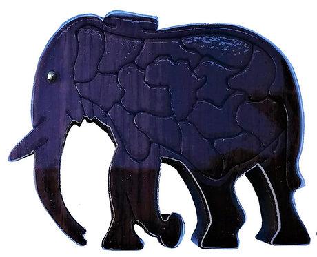 3D Elephant Medium