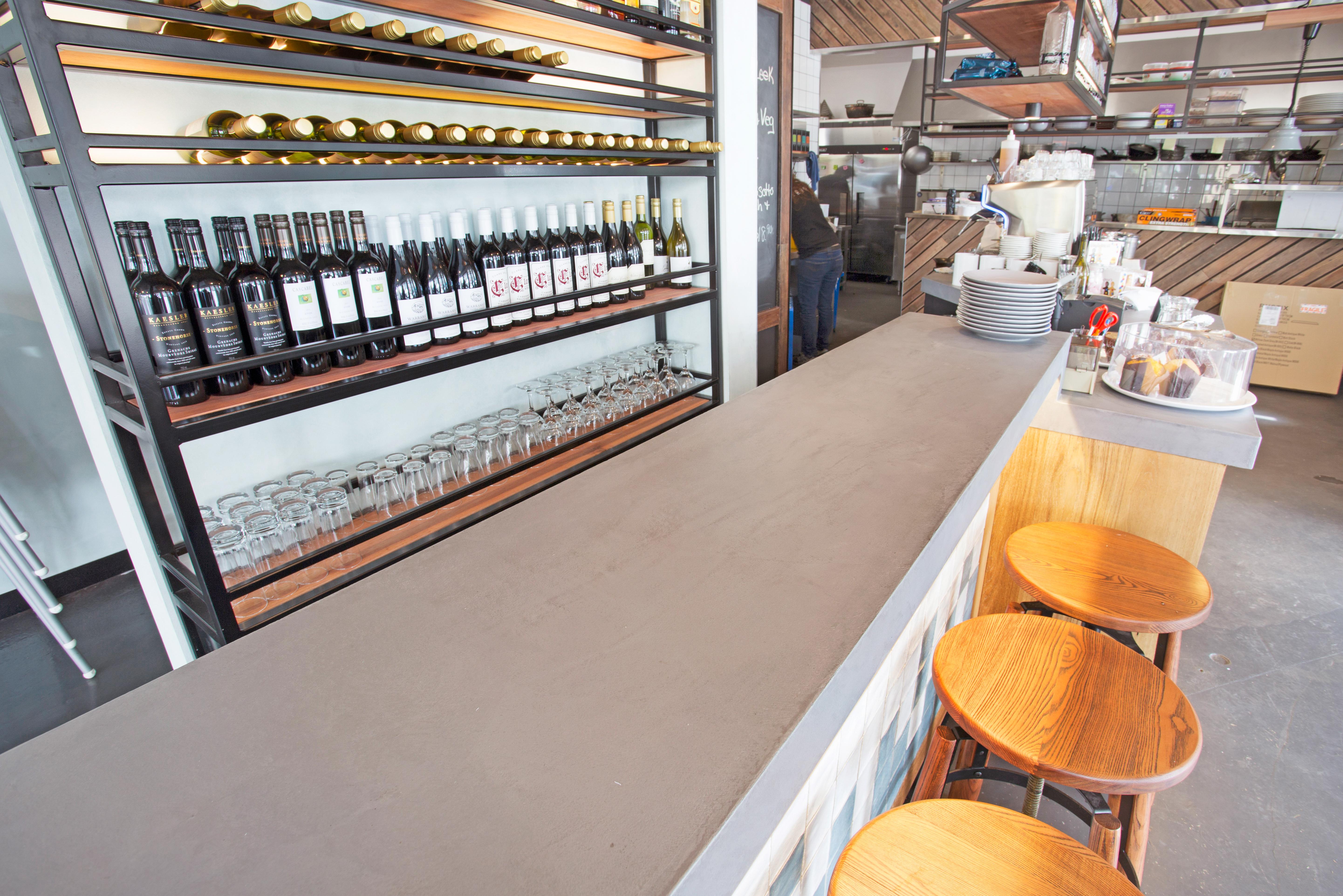 Cafe Bondi joinery