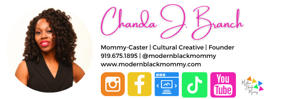 Modern Black Mommy Email Signature (2).p