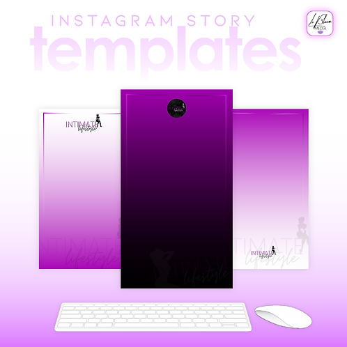 3 Instagram Story Post Templates