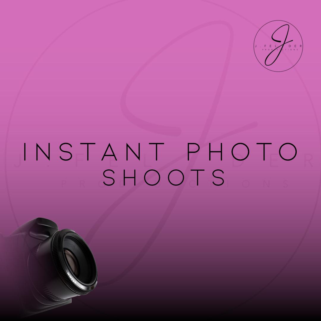 Instant Photo Shoots