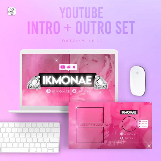 YouTube Intro and Outro Set