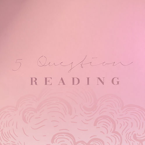 5 Question Intuitive Reading