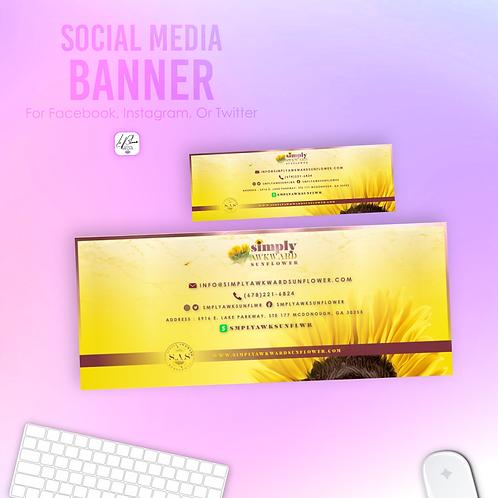 Social Media Banner (FB or TW)