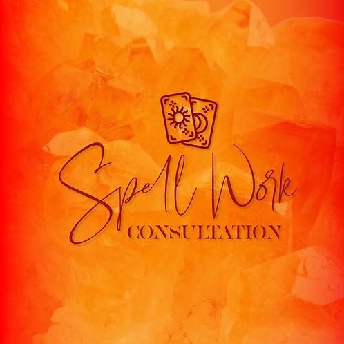 Spell work Consultation