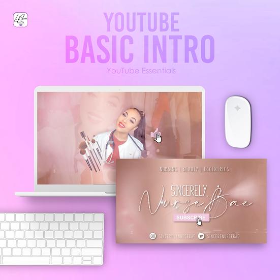 YouTube Basic Intro