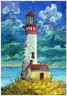 Lighthouse - Acrylic