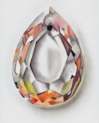 Jewel - Pencil/Colour Pencil