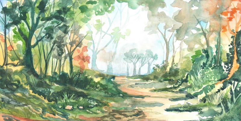 Landscape - Watercolour