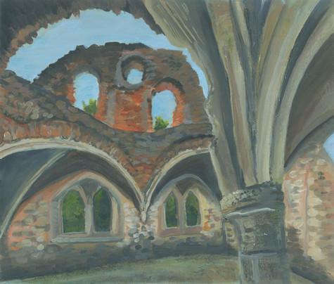 Waverley Abbey - Acrylic