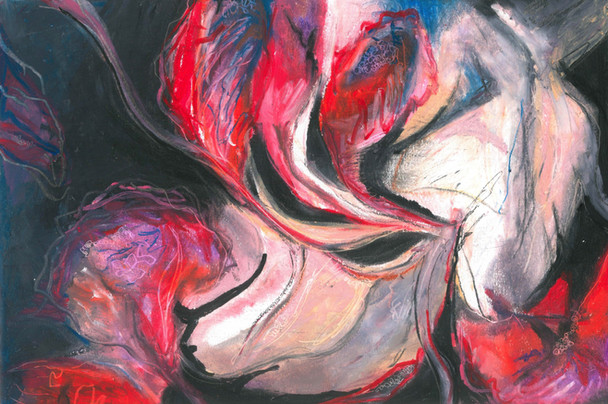 Abstract - Oil Pastels