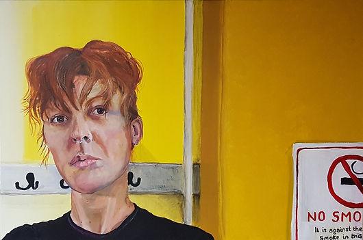 Acrylic - Self Portrait
