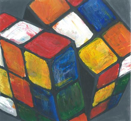 Rubix Cube - Acrylic