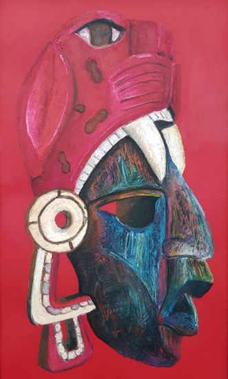 Oil Pastel - Mask