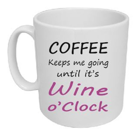Coffee to Wine Mug