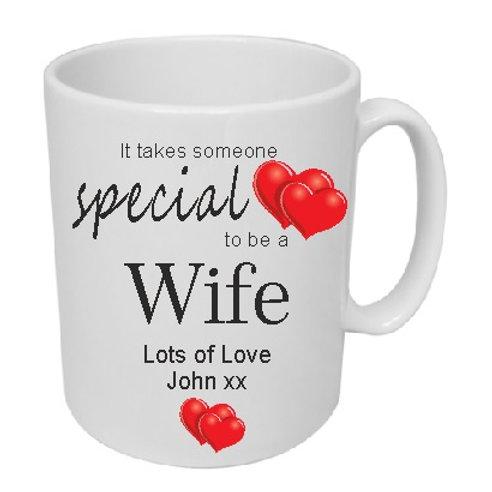 Special Wife Mug