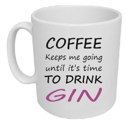 Coffee to Gin Mug