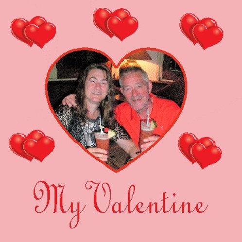 My Valentine Photo Coaster
