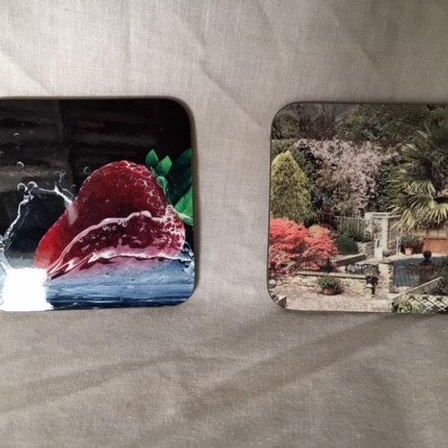Coasters 9 cm Square MDF
