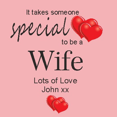 Special Wife Coaster