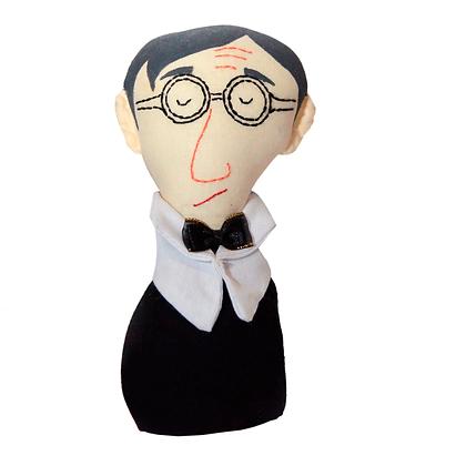 Peso para papel - Woody Allen