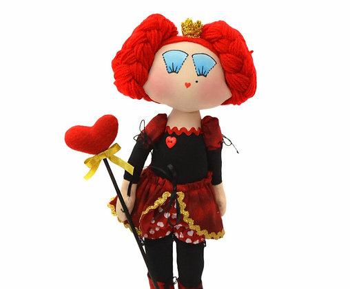 Rainha Vermelha boneca