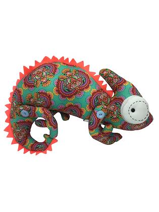 Boneco Decorativo Camaleão