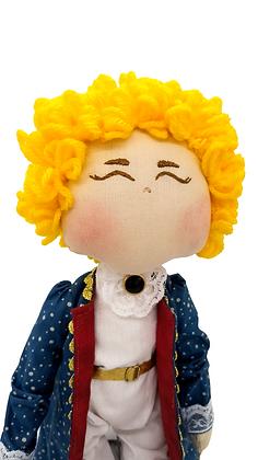 Boneco Pequeno Príncipe (Roupa de gala)