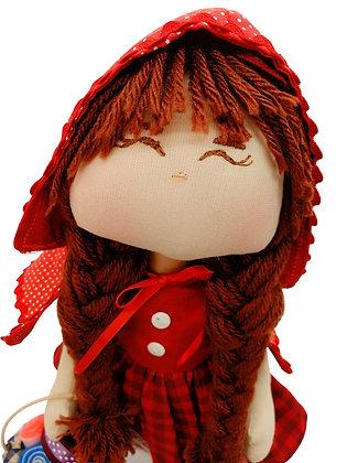 Boneca Decorativa Chapeuzinho Vermelho