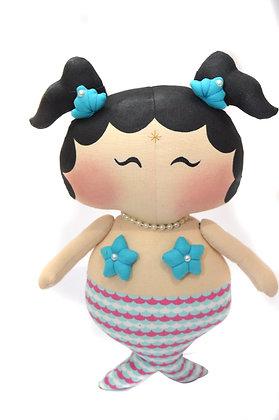 Boneca Tilda Toy Sereia