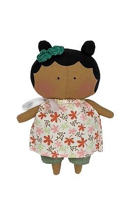 Boneca Mini Tilda Toy Negra