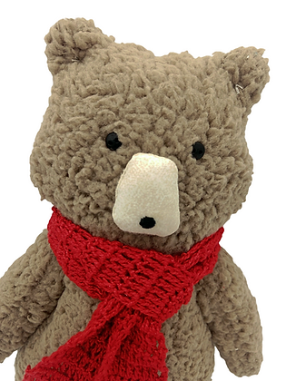 Boneco Decorativo Sr Urso Pardo