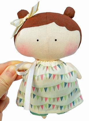 Boneca Tilda Toy Branca
