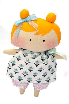Boneca Mini Tilda Toy Loira