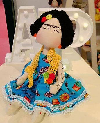 Boneca Frida Pezinho