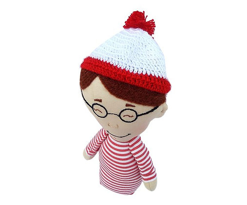 Peso para papel - Wally (Onde está Wally?)