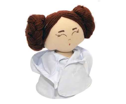 Peso para papel - Princesa Leia