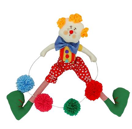 Boneco Decorativo Malabarista Limão