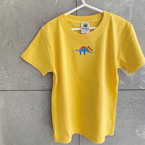 恐竜Tシャツ(ステゴザウルス)