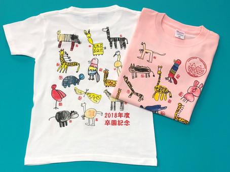 手書きの絵をプリントしてTシャツを制作しよう