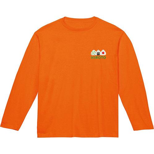 おにぎりリブなし長袖Tシャツ