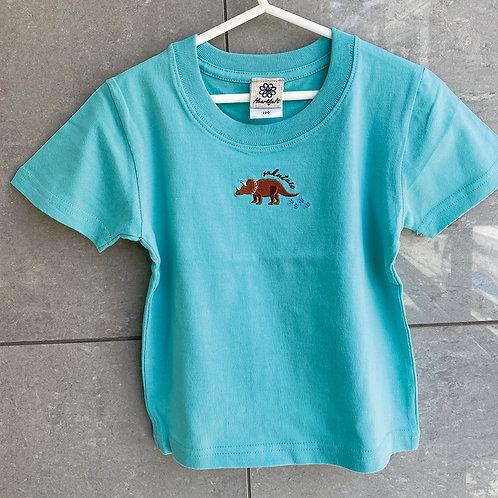 恐竜Tシャツ(トリケラトプス)