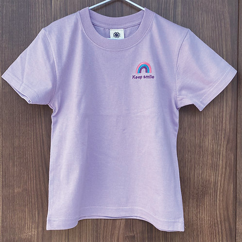 レインボーTシャツ(ラベンダー)