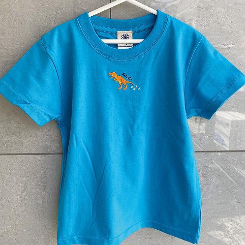 恐竜Tシャツ(ティラノサウルス)