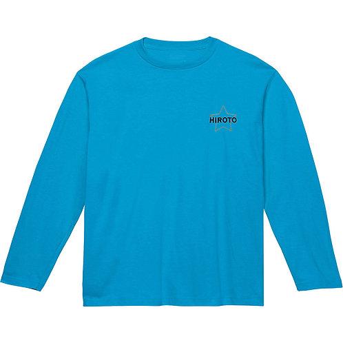 スターリブなし長袖Tシャツ